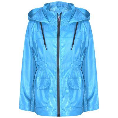 A2Z Trendz Kids Girls Boys Raincoats Jackets Designer's Aqua Light Weight Waterproof Kagool Hooded Cagoule Rain Mac Coats New Age 5 6 7 8 9 10 11 12 13 Years