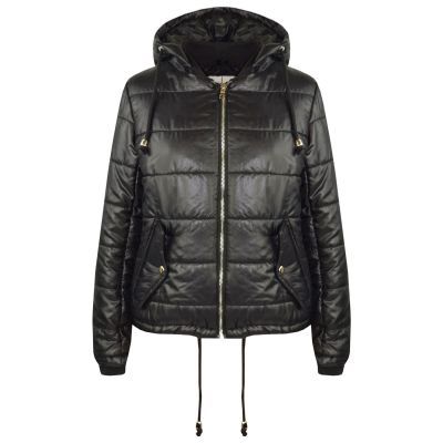 A2Z Trendz Girls Jacket Kids Designer's Bella High Shine Hooded Hoodie Padded Quilted Puffer Jackets Warm Thick Coats New Age 5 6 7 8 9 10 11 12 13 Years