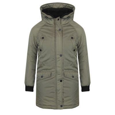 A2Z Trendz Kids Girls Boys Parka Hooded Jacket Padded Lined School Jackets Outwear Coat New Age 5 6 7 8 9 10 11 12 Years