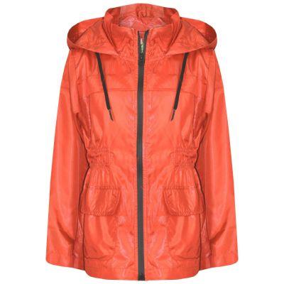 A2Z Trendz Kids Girls Boys Raincoats Jackets Designer's Orange Light Weight Waterproof Kagool Hooded Cagoule Rain Mac Coats New Age 5 6 7 8 9 10 11 12 13 Years