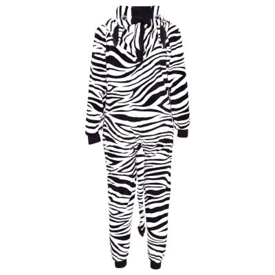 A2Z Trendz Kids Girls Boys Onesie Extra Soft Fluffy Zebra All In One Halloween Costume New Age 7 8 9 10 11 12 13 14 Years