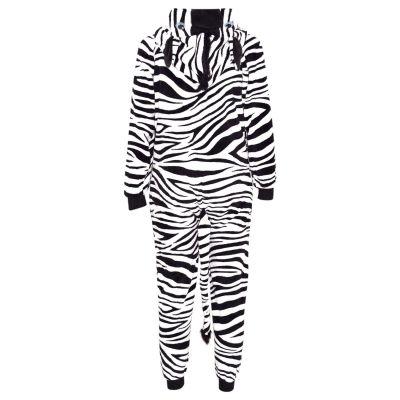 Kids Girls Boys Extra Soft Zebra Onesie