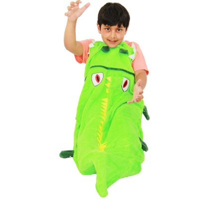 A2Z Trendz Kids Blanket Crocodile Soft Fleece Blankets Sleeping Bag Fancy Dresses One Size