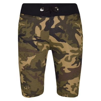 A2Z Trendz Kids Shorts Girls Boys Designer's Green Camouflage Print Cotton Chino Shorts Casual Knee Length Half Pant Age 5-13 Years