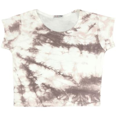 A2Z Trendz Kids Girls Crop Tops Tie Dye Print Stone Stylish Fahsion Trendy T Shirt Tank Top & Tees New Age 5 6 7 8 9 10 11 12 13 Years