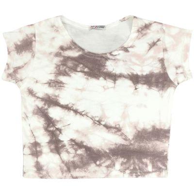A2Z Trendz Kids Girls Crop Tops Tie Dye Print Stone Stylish Fahsion Trendy T Shirt Tank Top & Tees New Age 5 6 7 8 9 10 11 12 13 Years