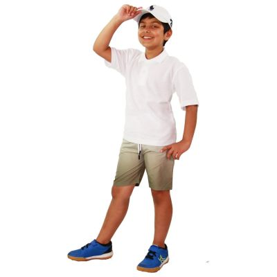 A2Z Trendz Kids Boys Girls Shorts Two Tone Olive Chino Summer Short Casual Knee Length Half Pant New Age 3 4 5 6 7 8 9 10 11 12 13 Years
