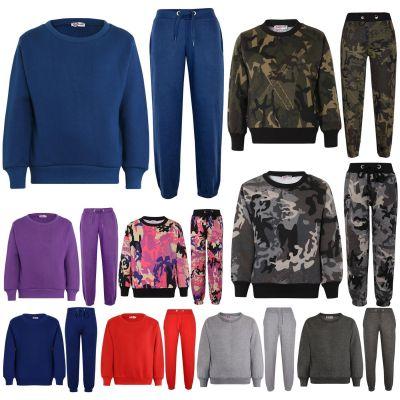 Girls Boys Unisex Sweatshirt & Bottom Tracksuit