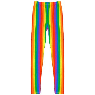 A2Z Trendz Kids Girls Legging Designer's Rainbow Fashion Party Dance Full Length Leggings New Age 7 8 9 10 11 12 13 Years