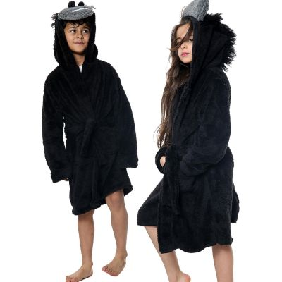 Unisex Girls Boys Bathrobe 3D Animal Gorilla Dressing Gown.
