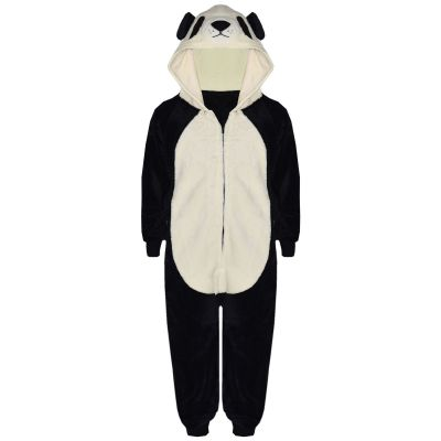 Kids Girls Boys Extra Soft Panda Onesie