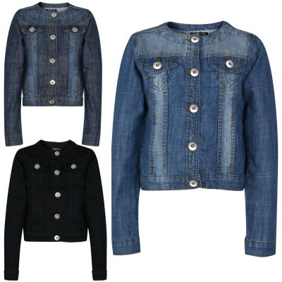 Kids Girls Jacket Kids Denim Style Stylish Fashion Trendy Jacket New Age 3 4 5 6 7 8 9 10 11 12 13 14 15 16 Years