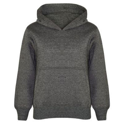 A2Z Trendz Kids Girls Boys Sweat Shirt Tops Designer's Casual Plain Charcoal Pullover Sweatshirt Fleece Hooded Jumper Coats New Age 2 3 4 5 6 7 8 9 10 11 12 13 Years
