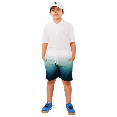 A2Z Trendz Kids Boys Girls Shorts Two Tone Blue Chino Summer Short Casual Knee Length Half Pant New Age 3 4 5 6 7 8 9 10 11 12 13 Years