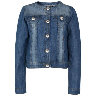A2Z Trendz Kids Girls Denim Jackets Designer's Trendy Light Blue Fashion Jeans Jacket Stylish Coats New Age 3 4 5 6 7 8 9 10 11 12 13 Years