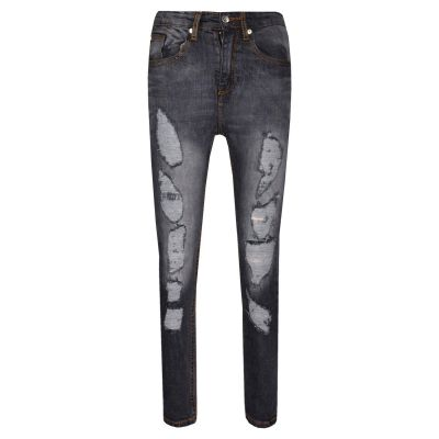 A2Z Trendz Kids Stretchy Jeans Boys Jeggings Ripped Stylish Skinny Pants Fashion Trousers Age 5 6 7 8 9 10 11 12 Years