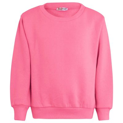 Girls Plain Color Jumper Swetshirts