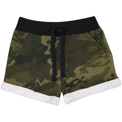 A2Z Trendz Kids Girls Shorts Fleece Camouflage Green Gym Dance Sports Trendy Fashion Summer Hot Short Running Pants New Age 5 6 7 8 9 10 11 12 13 Years