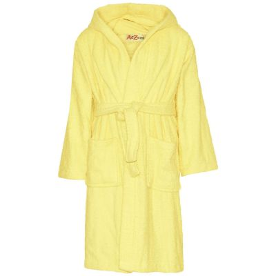 A2Z Trendz Kids Girls Towel Bathrobe 100% Cotton Lemon Hooded Terry Towelling Luxury Robes Dressing Gown Loungewear Age 2 3 4 5 6 7 8 9 10 11 12 13 Years