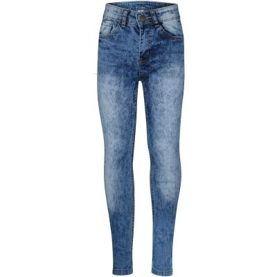 A2Z Trendz Kids Boys Stretchy Jeans Designer's Tie Dye Light Blue Denim Pants Fashion Slim Fit Trousers New Age 5 6 7 8 9 10 11 12 13 14 Years