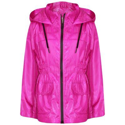 A2Z Trendz Kids Girls Boys Raincoats Jackets Designer's Pink Light Weight Waterproof Kagool Hooded Cagoule Rain Mac Coats New Age 5 6 7 8 9 10 11 12 13 Years