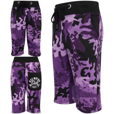 Girls Boys Camouflage Print Shorts