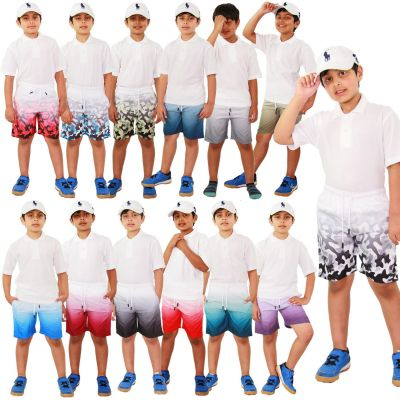 A2Z Trendz Kids Boys Girls Shorts Two Tone Chino Summer Short Casual Knee Length Half Pant New Age 3 4 5 6 7 8 9 10 11 12 13 Years