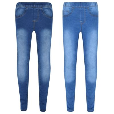 A2Z Trendz Kids Stretchy Jeans Girls Denim Stylish Jeggings Pants Fashion Trousers Leggings Age 5 6 7 8 9 10 11 12 13 Years