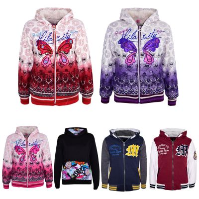A2Z Trendz Kids Girls Hoodie Designer's Hooded Hoodie Sweatshirt Tops Stylish Fashion Jumper Coats Age 7 8 9 10 11 12 13 Years