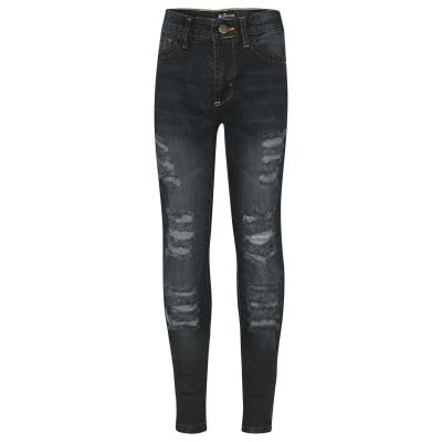 A2Z Trendz Kids Girls Skinny Jeans Designer's Denim Ripped Fashion Stretchy Jeggings Pants Stylish Black Trousers New Age 3 4 5 6 7 8 9 10 11 12 13 Years
