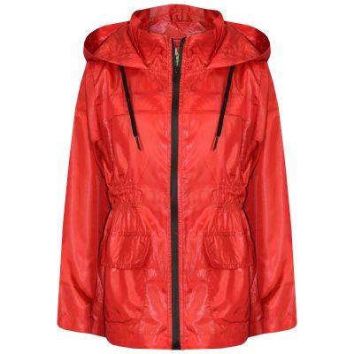 A2Z Trendz Girls Boys Raincoats Jackets Kids Red Light Weight Waterproof Kagool Hooded Jacket Cagoule Rain Mac Thin Coats New Age 5 6 7 8 9 10 11 12 13 Years