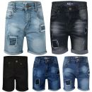 A2Z 4 Kdis Kids Boys Shorts Designer's Denim Ripped Chino Bermuda Jeans Shorts Casual Knee Length Half Pant New Age 5-13 Years