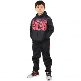 A2Z Kids Boys Girls Tracksuits Fade Gradient Teal Hooded Top Bottom Jogging Suit