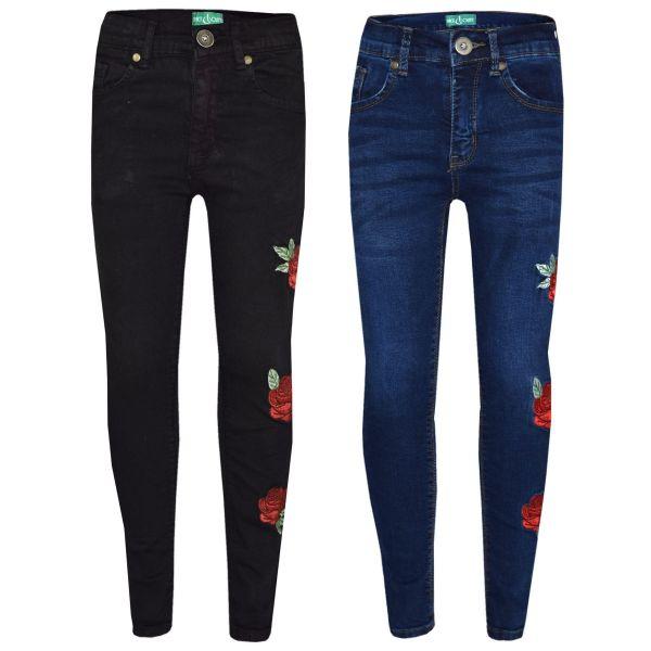 A2Z 4 Kids Kids Boys Skinny Jeans Designers Dark Blue Denim Stretchy Pants Fashion Fit Trousers New Age 5 6 7 8 9 10 11 12 13 Years