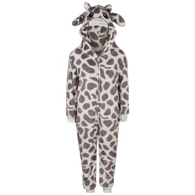 11-12 Years Camouflage Green A2Z 4 Kids/® Kids Girls Boys Onesie Extra Soft Fluffy Zebra All in One
