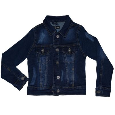 Kids Boys Denim Jacket Faded Jeans Gilet Sleeveless School Jackets Fashion Coats