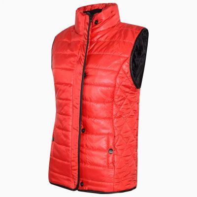 Padded Plain Gilet Bodywarmer Sleeveless Jacket Vest GREEN GREY RED BLUE BLACK