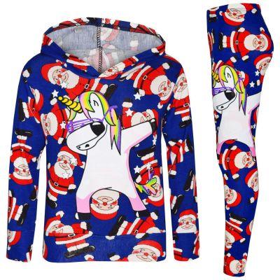 Kids Girls Unicorn Camouflage Long Sleeve Hoodie /& Legging Set Kids Tracksuit Jogging Suit 2 PC Set Age 7-To-13 Years