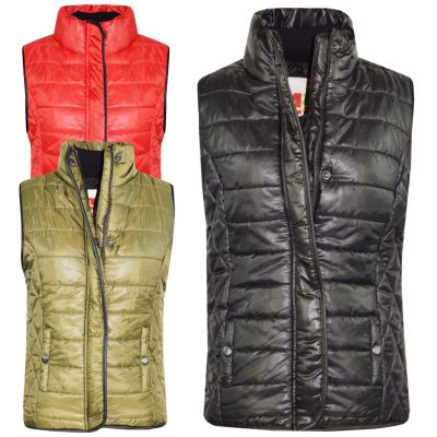 A2Z 4 Kids/® Kids Girls Boys Designers Navy Sleeveless Hooded Padded Quilted Lined Gilet Bodywarmer Fashion Jackets Age 5 6 7 8 9 10 11 12 13 Years