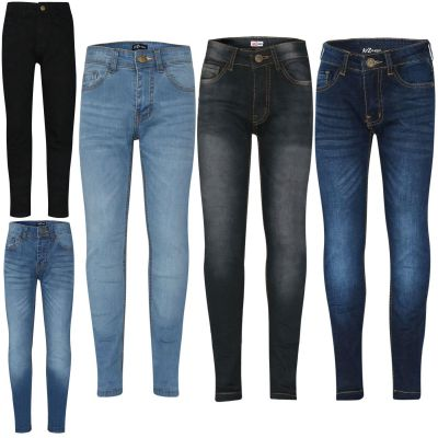 A2Z 4 Kids Kids Boys Stretchy Jeans Designers Ripped Denim Skinny Pants Fashion Slim Fit Trousers New Age 5 6 7 8 9 10 11 12 13 Years